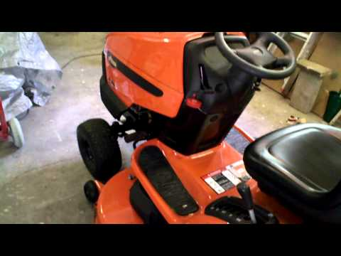 Ariens Mower 22hp 46 Inch Hydro + Auto overview - YouTube on