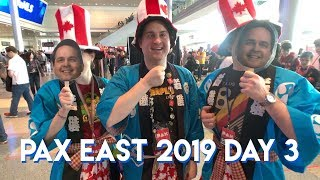 THREEJ || PAX East 2019 Day 3