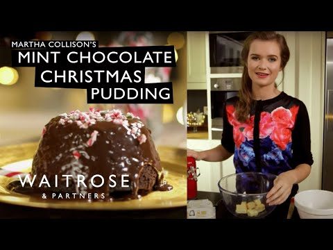 Martha Collison's Chocolate Mint Christmas Pudding | Waitrose