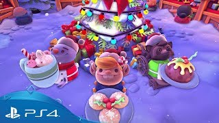 Overcooked 2 | Kevin's Christmas Cracker Update | PS4