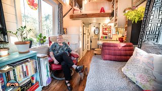 Her Adorable DIY Tiny Home for Retirement  Divorce To Living Simple
