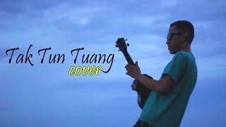 Tak Tun Tuang 🎸 Laiqul Cover 🎤 Lagu Minang yang Popular di Malaysia dengan ukulele nya di pesisir