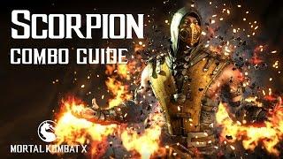 Mortal Kombat X: SCORPION Beginner Combo Guide