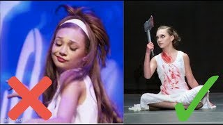 My Favorite and Least Favorite Dance Moms Solo From Each Girl