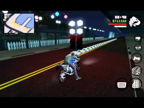 Gta Sa Mod Drag Bike Indonesia Android Youtube