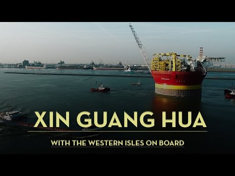 The Xin Guang Hua with FPSO Western Isles on board [ Rotterdam 19042017 ] - Vilin Local