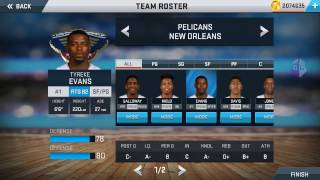 NBA2K17  v27 android (How to 99 your MC  stats)