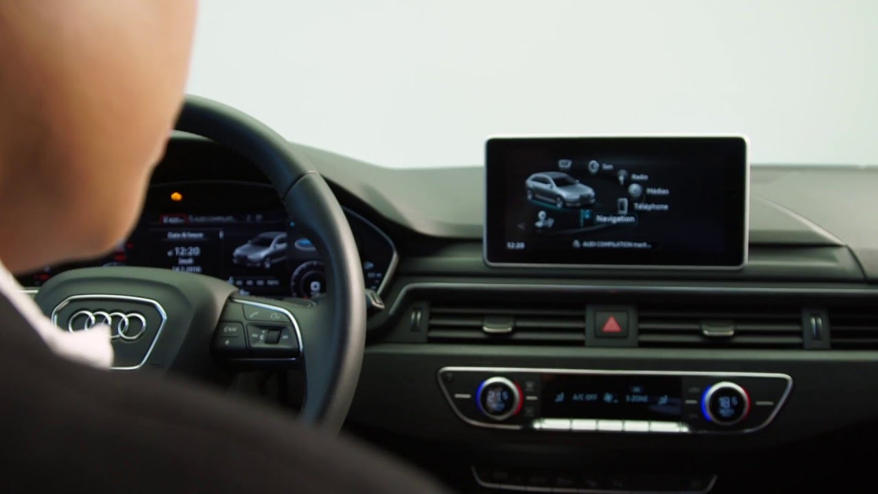 astuce myaudi : audi smartphone interface - youtube