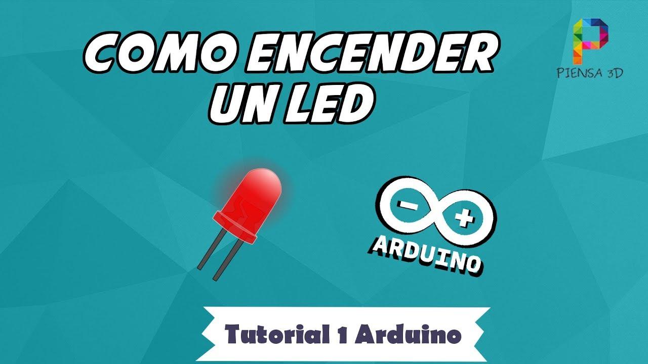 CÓMO ENCENDER un LED 💡 ► ARDUINO [ TUTORIAL 1 ] ✅