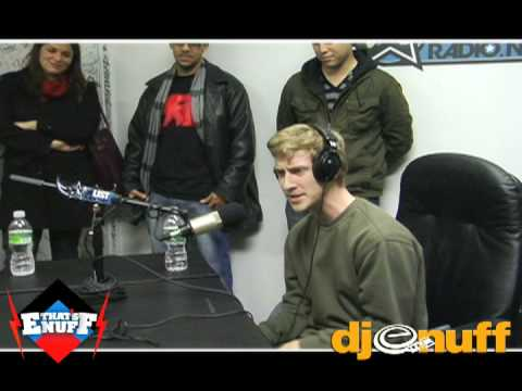 DJ EnuffKid Cudi Asher Roth Freestyle on ALISTRADIONET Part 2