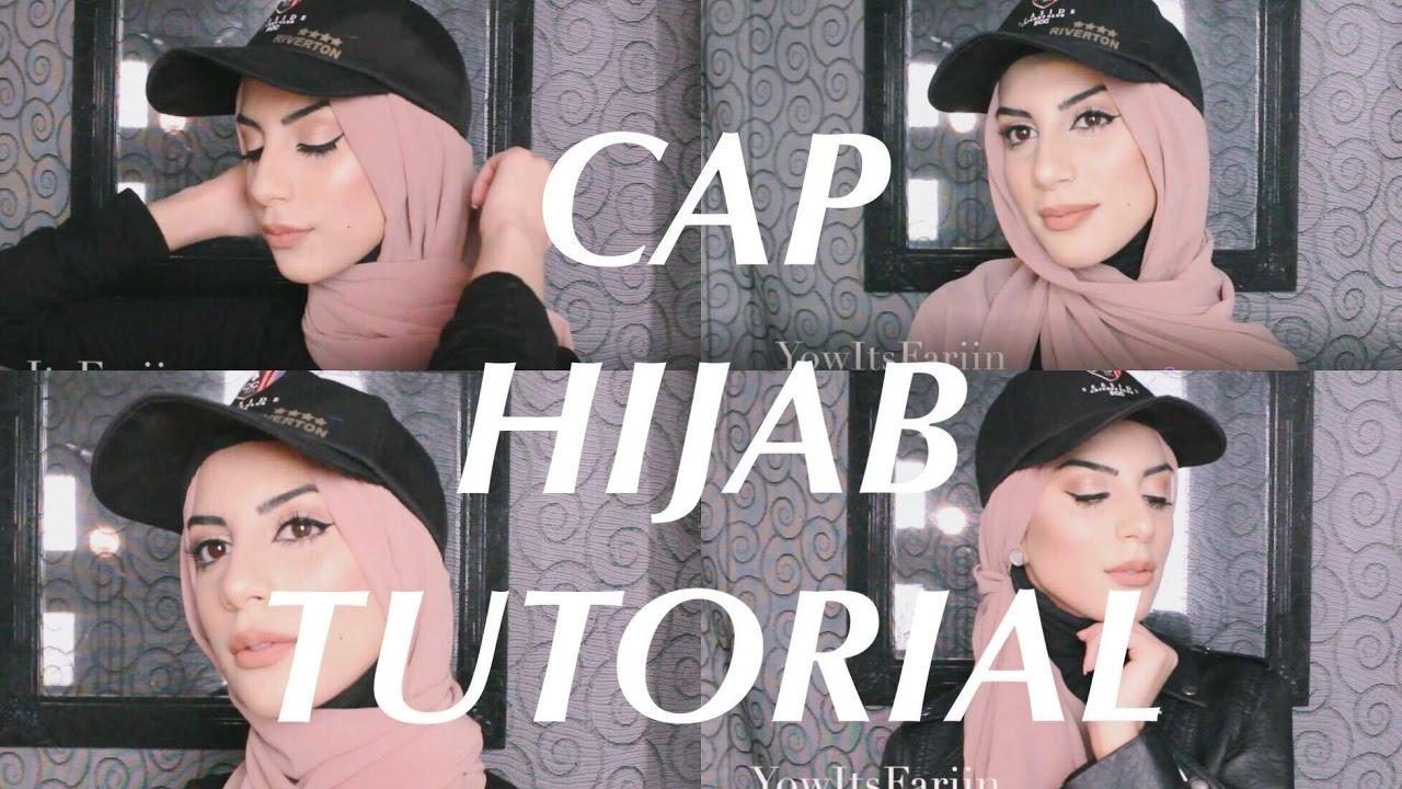 Cap Hijab Tutorial 1 Cap 5 Styles Youtube