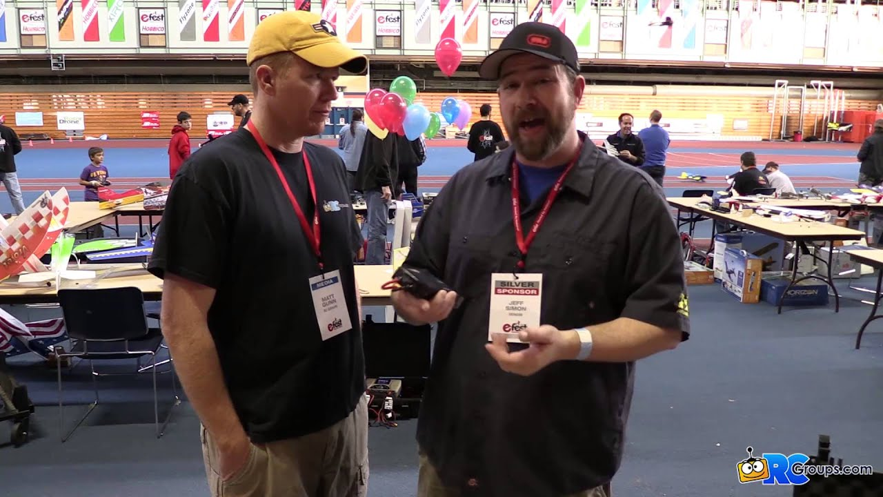 Venom Fly Series LiPo Batteries - Interview at E-Fest 2016