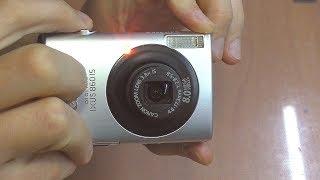 Фотокамера Canon IXUS 860 IS: Нет автофокуса / Выпадает в ошибку объектива. РЕМОНТ