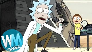 ¡Top 10 CANCIONES Originales de Rick & Morty!