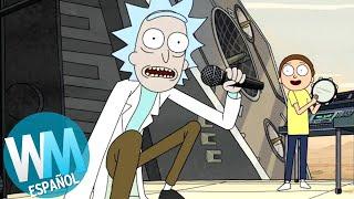 ¡Top 10 CANCIONES Originales de Rick & Morty!