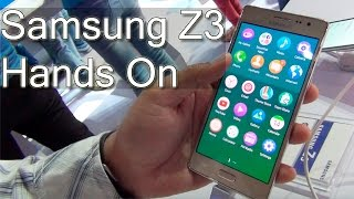 Samsung Z3 Hands On Review