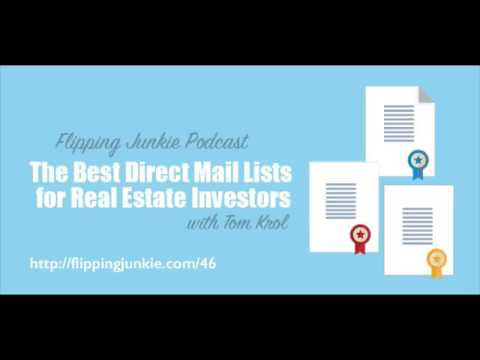 Episode 46: The Best Direct Mail Lists for Real Estate Investors with Tom Krol