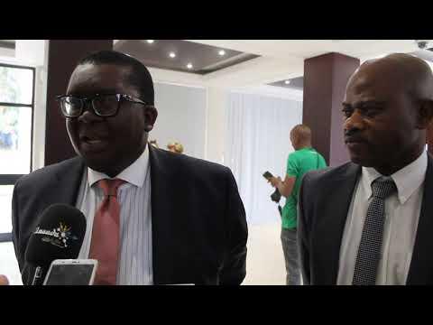 Zululand District Municipality Cllr. Thulasizwe Buthelezi and Dr. Maxwell Mudhara (UKZN)