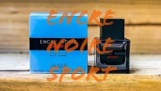 Encre Noire Sport by Lalique | Fragrance Review