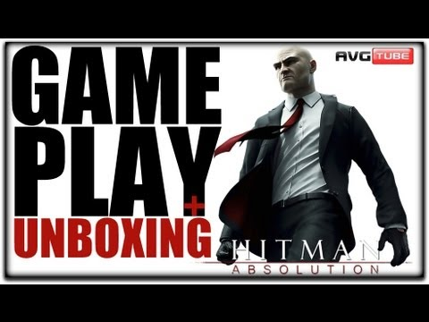Hitman Absolution♛Unboxing+GamePlay