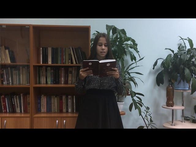 Изображение предпросмотра прочтения – ДарьяМаркина читает произведение «Как хороши, как свежи были розы ...» И.С.Тургенева