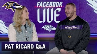 Pat Ricard On Pro Bowl, Playing Both Ways and the Special Ravens Team | Baltimore Ravens