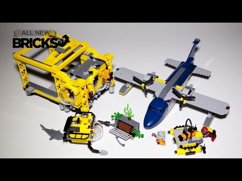 Lego City 60096 Deep Sea Operation Base Speed Build