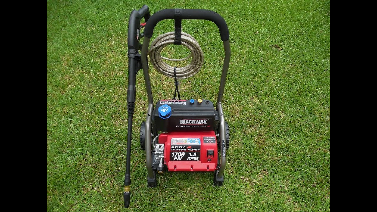 Blackmax Pressure Washer Youtube