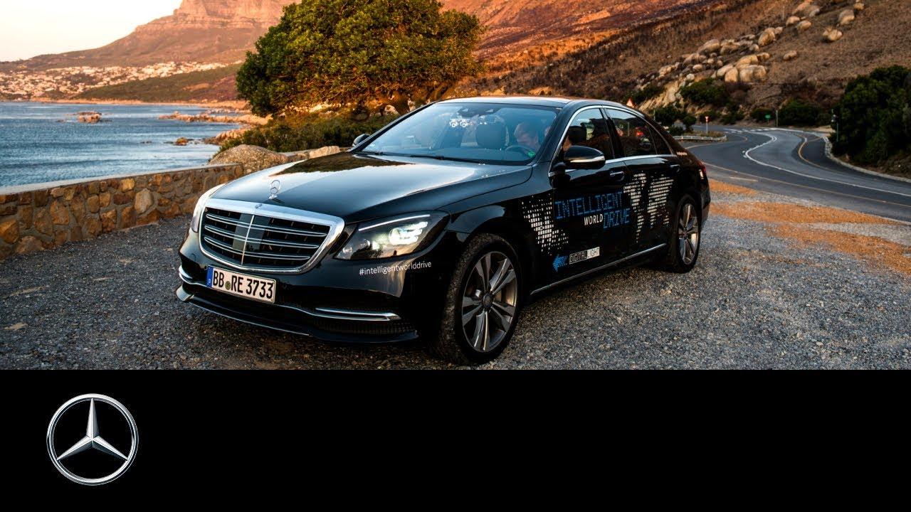 autonomous driving in south africa mercedes benz intelligent world