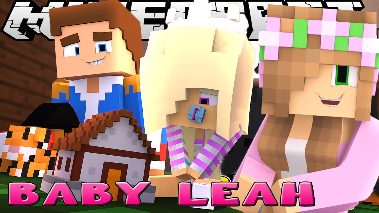 little kelly meets baby leah minecraft little donny