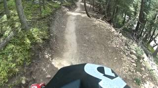 Downhill mountain biking Angel Fire Bike Park -- Ziggy