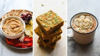 3 Vegan Holiday Recipes Using Tea // Easy & Delicious! ☕️