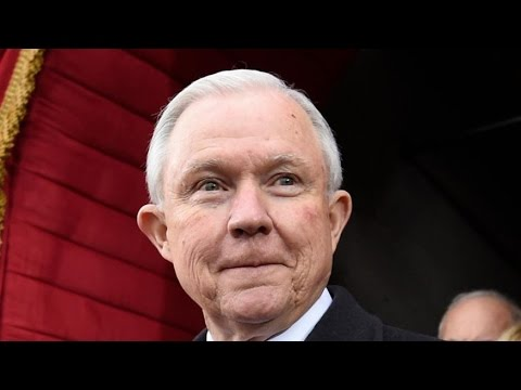Justice Department Move Hints At Legal-Weed Crackdown