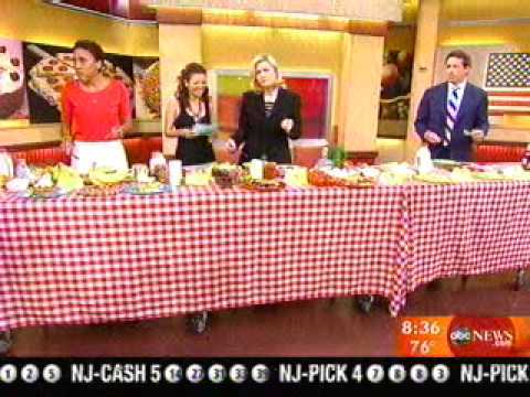 America's Most Wanted Recipes featured on Good Morning America