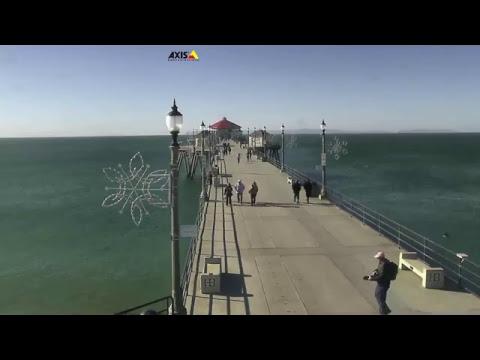 View from Huntington Beach Pier