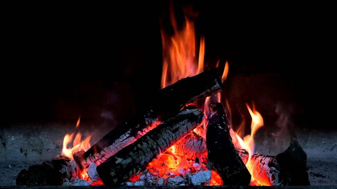Cozy Crackling Fire – 9 Hour HD Virtual Fireplace – Sleep Sound ...