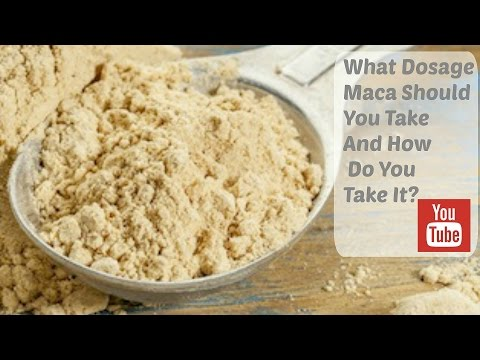 What Dosage Maca Should You Take And How Do You Take It?