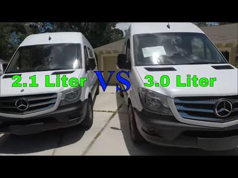 New 2017 Sprinter vs 2014 Sprinter 2.1L vs 3.0L Comparison