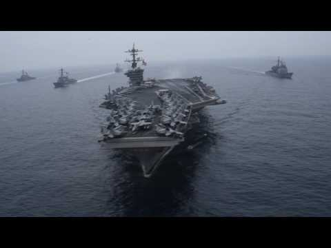 Carl Vinson and Ronald Reagan Carrier Strike Groups