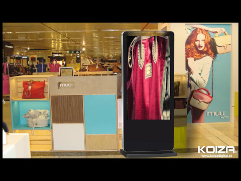 DISPLAY VIDEO VERTICAL - FREESTANDING WIFI KOIZA LED