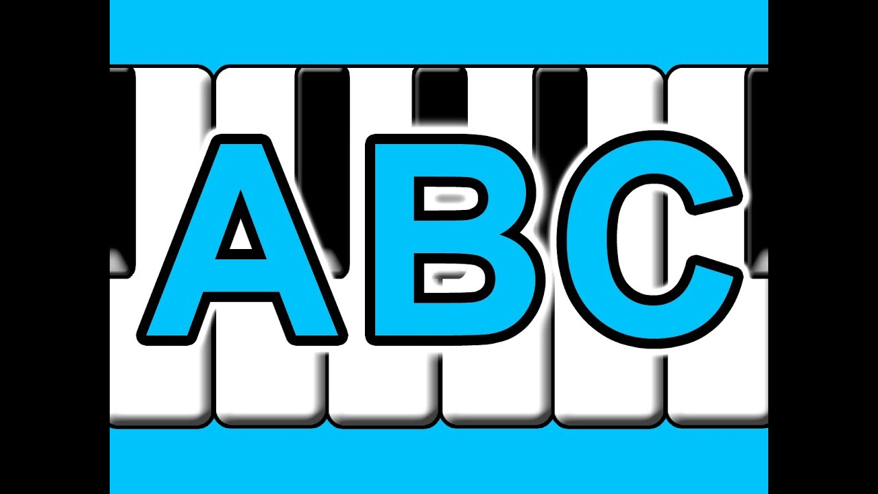 abc song music sheet pdf
