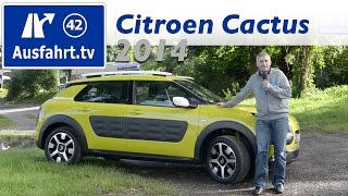 2014 Citroen C4 Cactus - Fahrbericht der Probefahrt - Test - Review - Deutsch