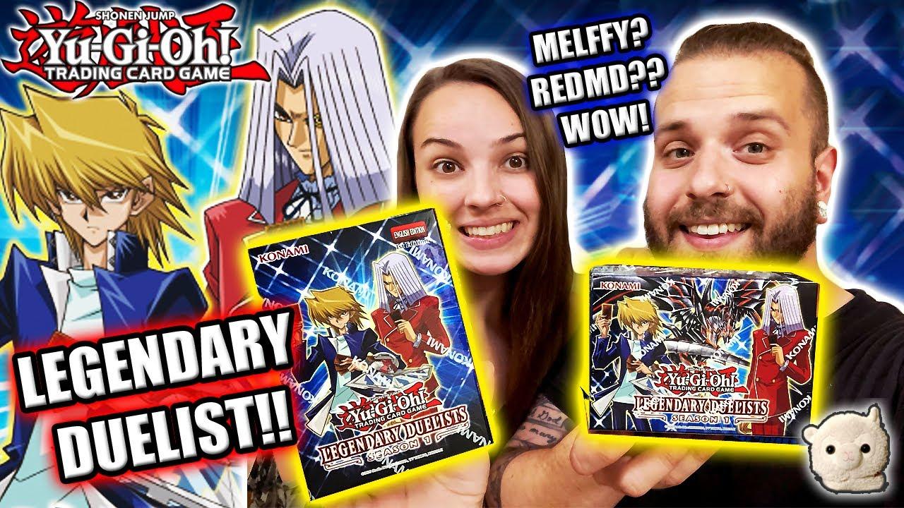 Yu-Gi-Oh! LEGENDARY DUELIST SEASON ONE OPENING!! New Red-Eyes, Rarities, & RABBYS!!