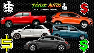 Los mejores autos de 250 a 300 mil Pesos | Tixuz Autos