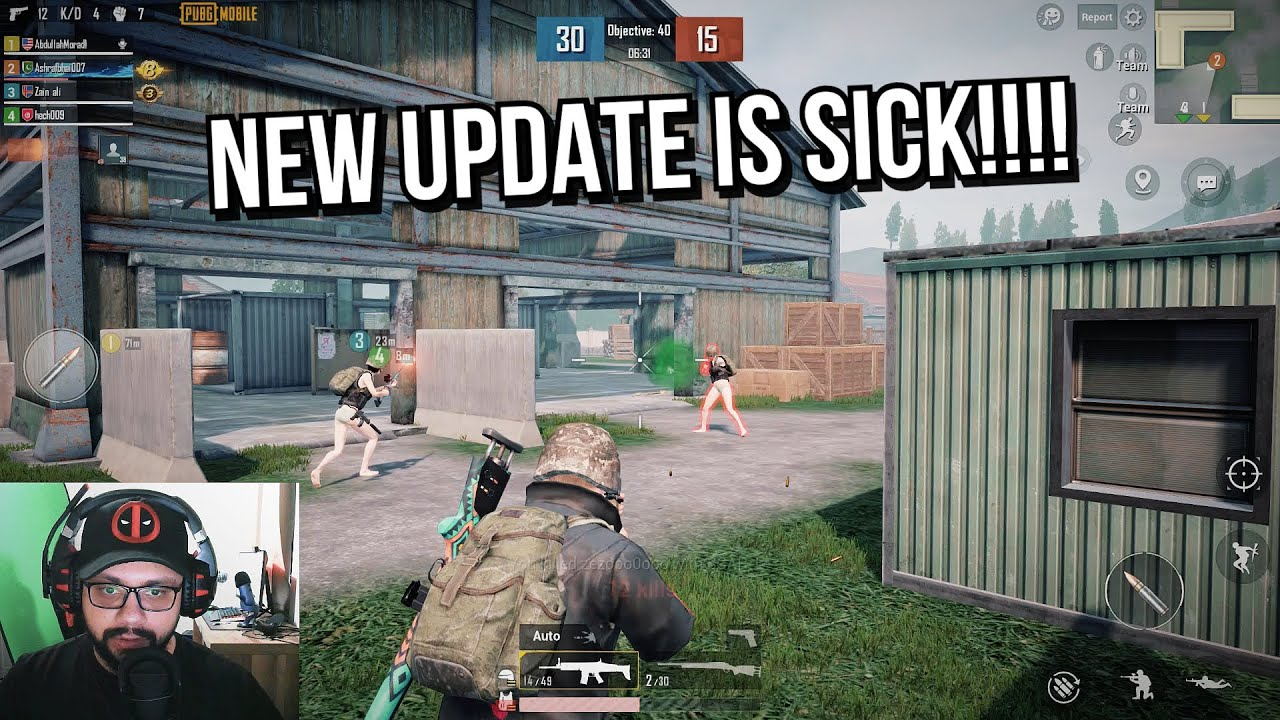 PUBG MOBILE NEW UPDATE IS SICK!!!!   Guy from Pakistan