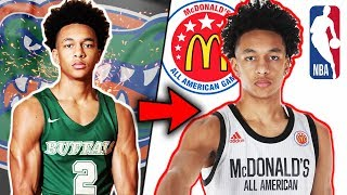 How Tre Mann Went From UnRANKED TO McDonalds ALL AMERICAN! Senior Year Highlights