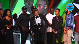3 Music Awards: Stonebwoy 'steals' Boomplay Album of the Year award