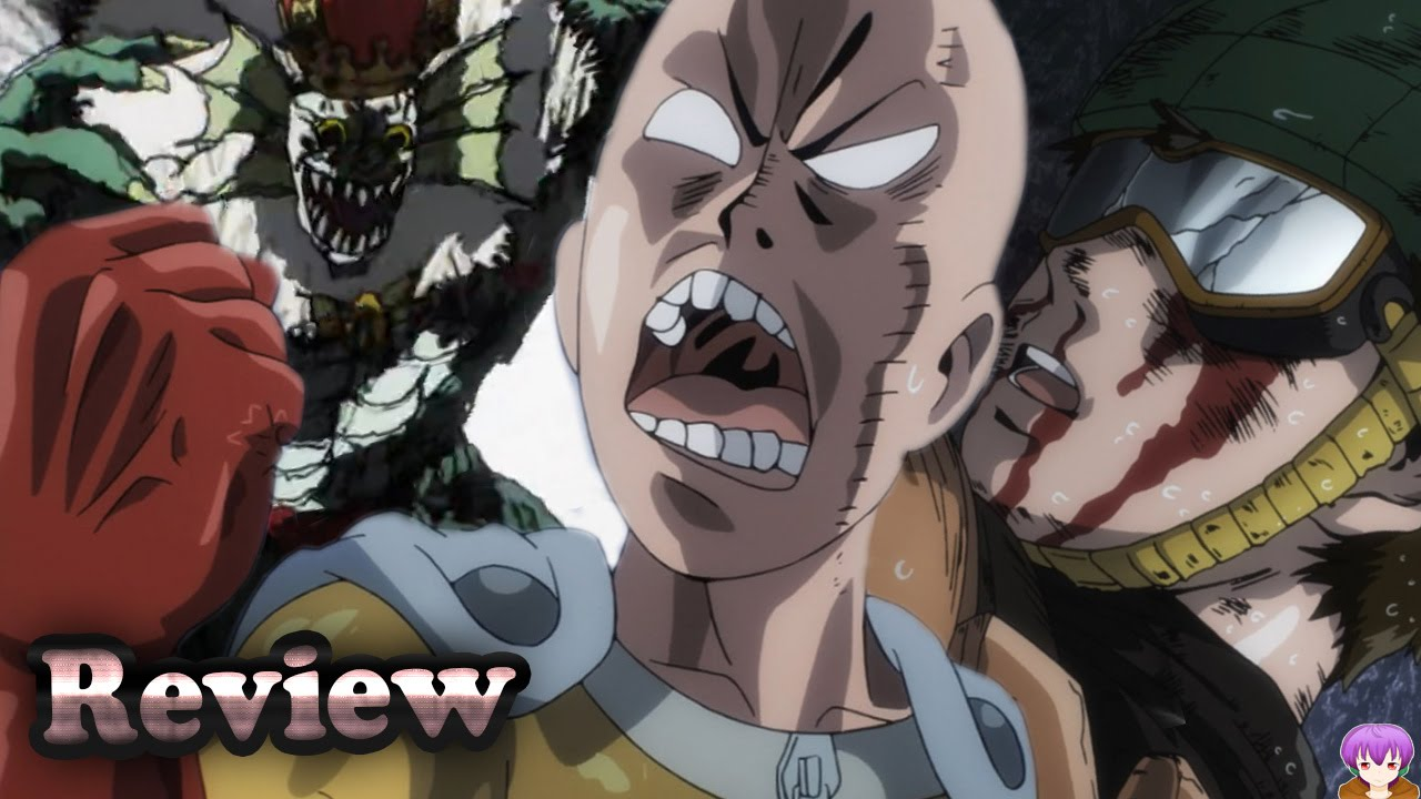 One Punch Man Episode 9 Anime Review The Face Of A True Hero ïンパンマン Youtube