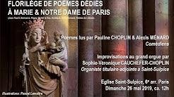 Sophie-Véronique Cauchefer-Choplin, improvisations sur des poèmes (Saint-Sulpice)
