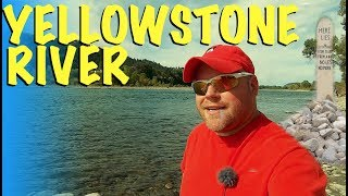 Montana ~ Boot Hill & Majestic Camping Yellowstone River